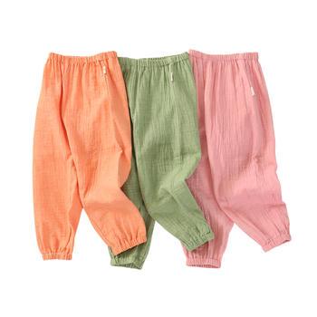 龙之涵儿童休闲裤婴幼儿防蚊裤