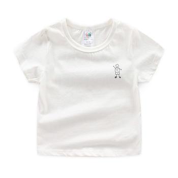 贝壳元素夏装男童短T恤tx9416