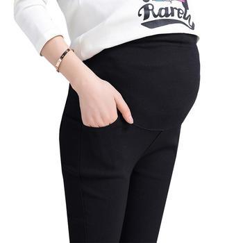 婷妃孕妇裤薄款外穿纯棉打底长裤