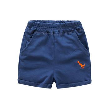 贝壳元素夏装男童恐龙短裤kzb038