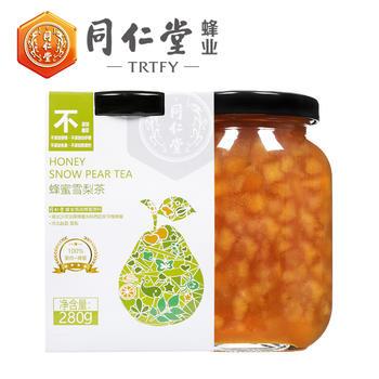 北京同仁堂蜂业蜂蜜雪梨茶280g