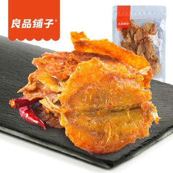 良品铺子 香辣金片鱼零食80g