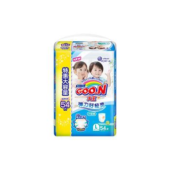 GOO.N®大王 短裤式纸尿裤维E L54片