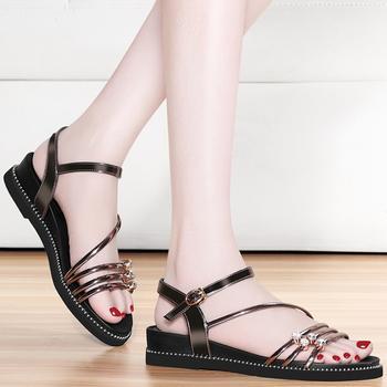 平底凉鞋女夏新款时尚休闲女鞋