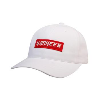MLB棒球帽白色红标Yankees01