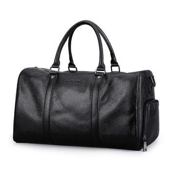 斐格男士横款手提包大容量旅行包