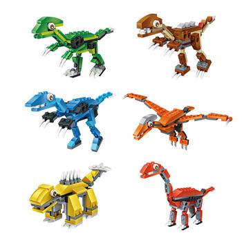 loz俐智 mini颗粒恐龙系列扭蛋