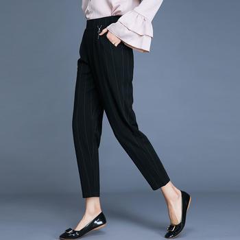 新款裤女九分裤高腰女装女裤DC2226