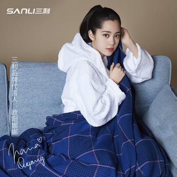 【欧阳娜娜同款】三利夏季纯棉纱布毯 空调毯 床单
