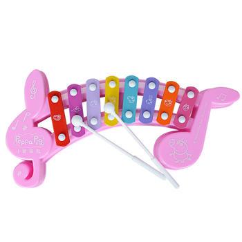 小猪佩奇音符敲琴八音琴乐器玩具