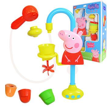 小猪佩奇戏水儿童洗澡花洒玩具