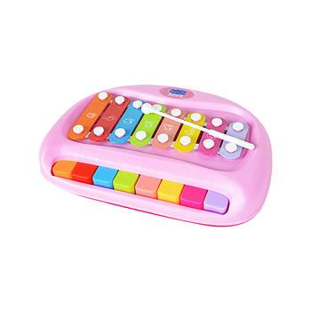 小猪佩奇钢琴敲琴双模式音乐玩具