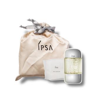 茵芙莎(IPSA)流金岁月凝润美肤水100ml+丝柔化妆棉20片+化妆包