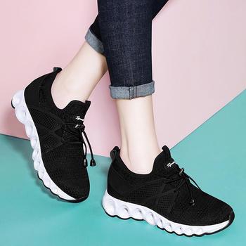 透气运动鞋夏季网面轻便跑步鞋