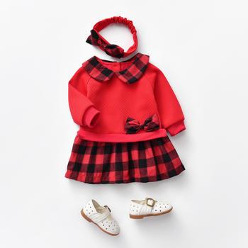 罗町 routy女宝秋款连衣裙套装