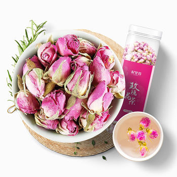 杞里香 法兰西玫瑰花茶50g 发新花 养颜重瓣干玫瑰花茶