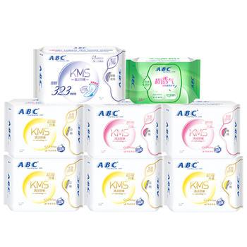 ABC卫生巾纤薄日夜用护垫组合8包