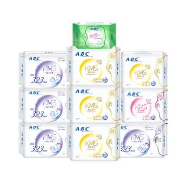 ABC卫生巾日用夜用姨妈巾组合