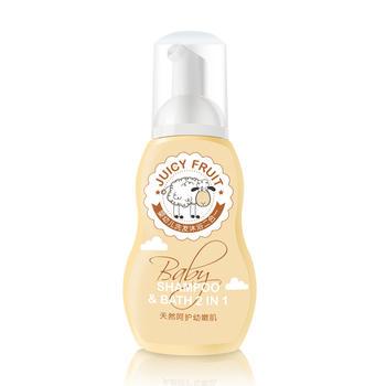 【清仓】宝宝洗发沐浴液二合一250ml 无泪配方不含硅油
