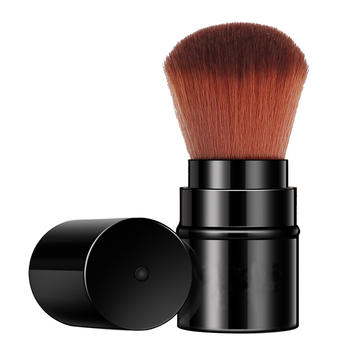 牙小白伸缩型时尚便携腮红刷粉底刷化妆工具