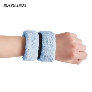 三利迷你运动方巾 手腕巾长绒棉 30x30cm