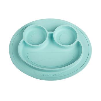 英国Douxbebe宝宝吸盘餐盘大眼蛙