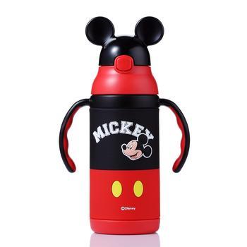 迪士尼两用吸管保温杯380ml