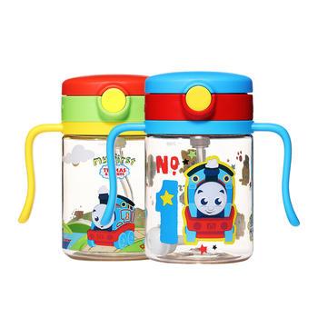 托马斯PPSU儿童带重力球学饮吸管杯200ml
