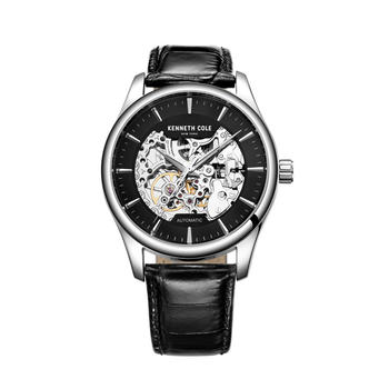 Kenneth Cole时尚镂空自动机械手表