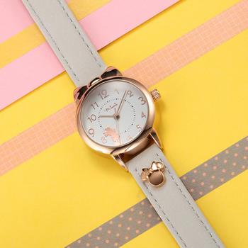 迪士尼皮带女孩学生可爱复古手表