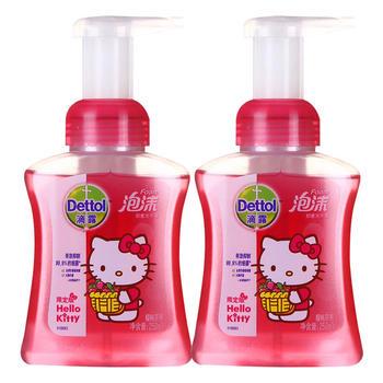 滴露清洁抑 菌泡沫洗手液樱桃芬芳250ml*2