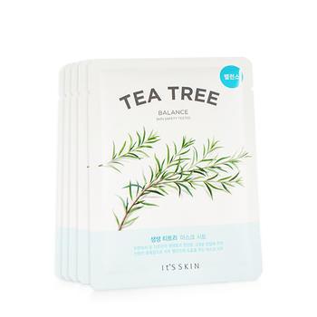 【买就送5片】伊思(it's skin)清新茶树面膜5片