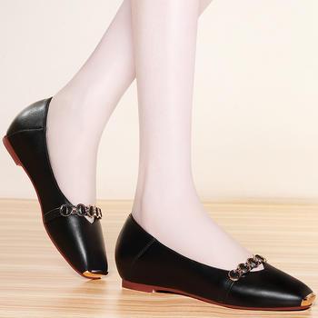 秋季新款低帮时尚孕妈妈平底单鞋