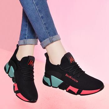 秋季新款韩版原宿百搭休闲跑步鞋