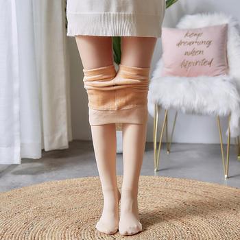 秀么 加绒加厚光腿神器打底裤