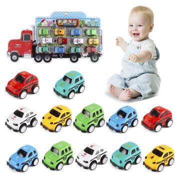 奥贝比【12只装】玩具儿童汽车