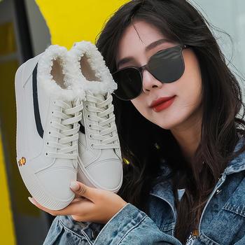新款百搭超纤棉鞋ins韩版雪地靴女