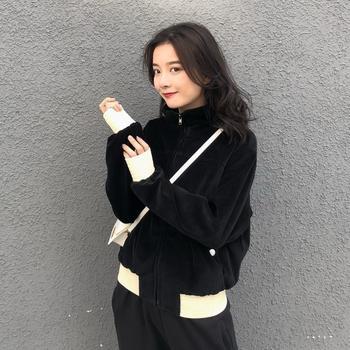 HiDou小香丝绒外套