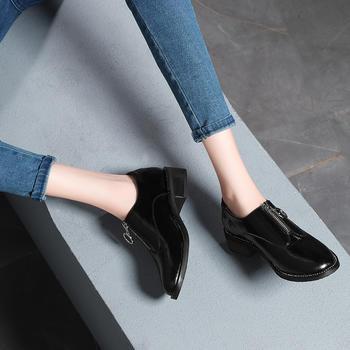 秋季新款英伦风复古小皮鞋单鞋