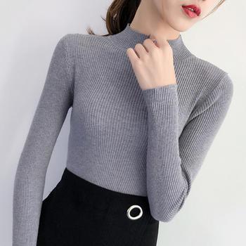 伊春美显瘦长袖打底毛衣针织衫