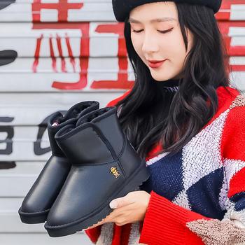 100KM猩猩猴新款中筒女平底雪地靴