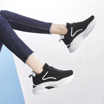 ZHR-反绒牛皮内增高休闲运动鞋