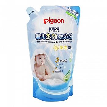 贝亲—婴儿多效洗衣液(阳光香型)1L,补充装