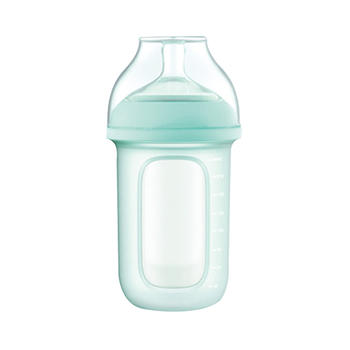 gb好孩子婴儿宽口径硅胶奶瓶
