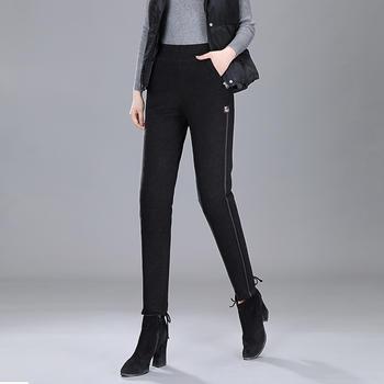 高腰羽绒裤女外穿宽松显瘦保暖