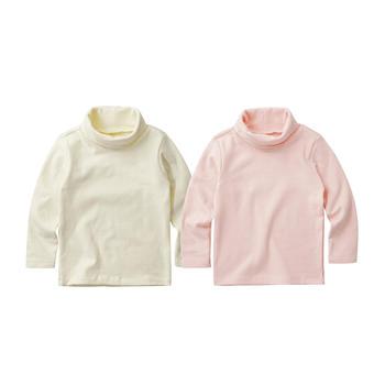 minizone春秋冬高领裸色打底衣T恤