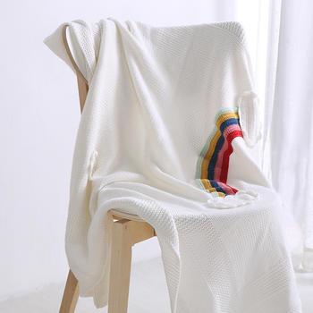 维科VEKEN北欧风全棉儿童毯针织毯