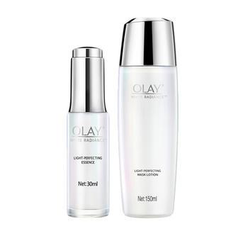 玉兰油OLAY光感小白瓶精华面膜水  水感透白光塑两件套