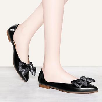女平底新款冬季结婚新娘鞋单鞋