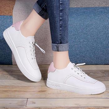 小白鞋女韩版百搭透气平底板鞋